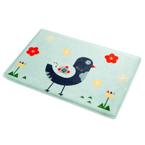 Home Decor Outdoor/Indoor Doormats Antiskid Entrance Mat Carpet Bird