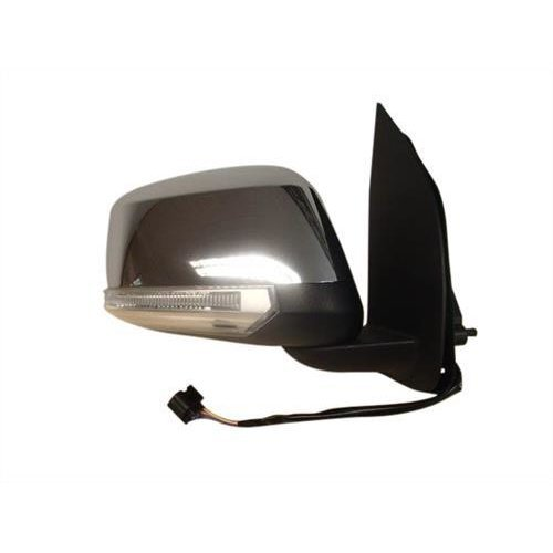 Nissan Pathfinder Estate 2010-2014 Door Mirror Electric Heated Type With Chrome Cover (No Kerb Lamp) Driver Side R