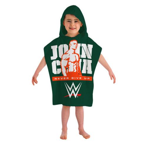 "Wwe ""john Cena"" Hooded Poncho, Cotton, Multi-colour - Poncho Towel John Cena -  hooded poncho towel wwe john cena beach kids childrens bath character"