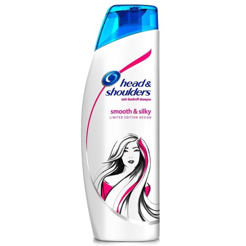 Head & Shoulders Anti-Dandruff Shampoo Smooth & Silky Moisturises Scalp 250ml