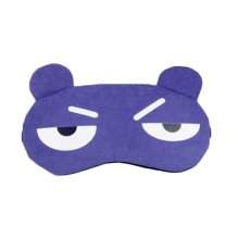 Funny Blue Expression Eye Sleep Mask for Travelers