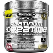 MuscleTech Platinum 100% Ultra-Pure Micronized Creatine Powder 400g