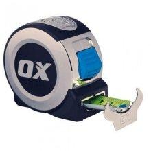 Ox P020905 Pro 5 Metre 16ft Tape Measure Chrome
