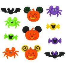 Dress It Up Licensed Embellishments-Disney Mickey & Minnie Halloween