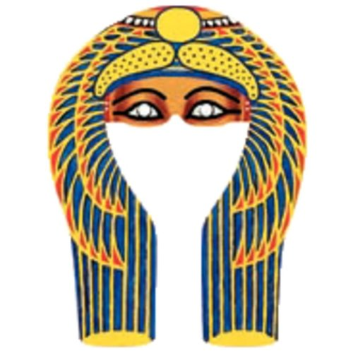 Ancient Egypt MUMMY MASK - Denytenamun - Fun cardboard cut-out face mask