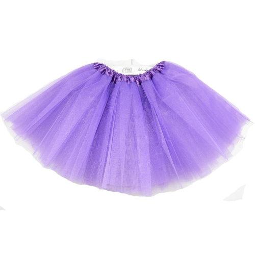 [DARK PURPLE]Lace Plain Ballet Dress Yarn Child/Audlt Ballet Tutu,One Size