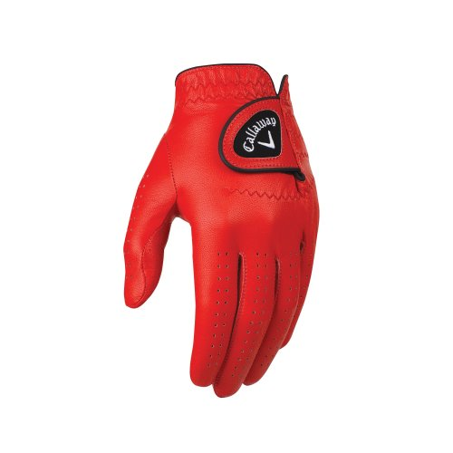 Callaway Golf Opti-Colour Gloves, Red, Small