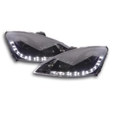 Daylight headlight  Ford Focus 3/4/5-door. Year 98-01 black