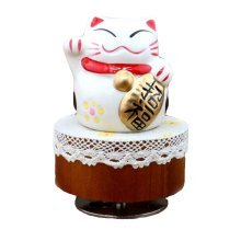 Japanese Style Music Box Clockwork Music Box Height Approx 4.3 Inch
