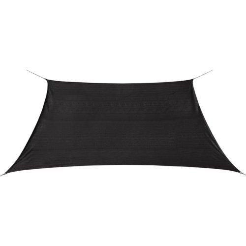 vidaXL Sunshade Sail HDPE Square 2x2 m Anthracite