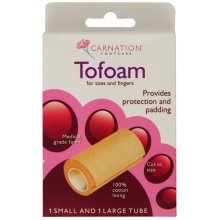 Carnation Footcare Tofoam -  carnation tofoam footcare protection toes fingers padding 1 6 packs 2 3