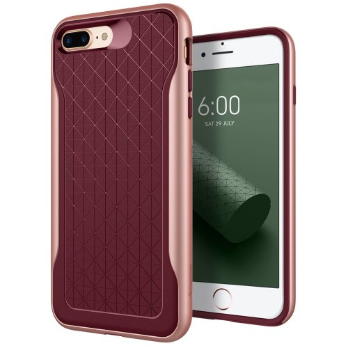 info for 5f656 1564e Caseology Apex Series iPhone 8 Plus / 7 Plus Cover Case with Design Slim  Protective for Apple iPhone 8 Plus (2017) / iPhone 7 Plus (2016) - Burgundy