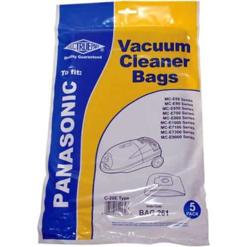 Electruepart BAG 261 5 pack of Bags to fit Panasonic Vacuum Cleaners