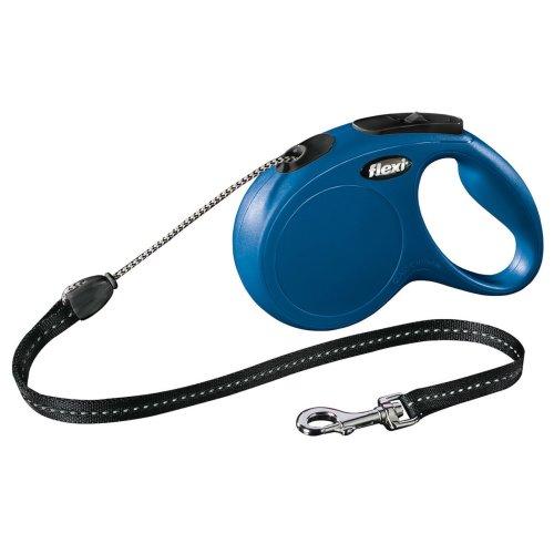 Flexi New Classic Cord Blue Medium 20kg - 5m (16ft)