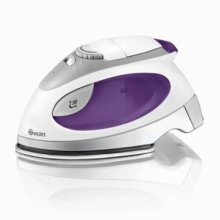 Swan Travel Steam Iron With Pouch 2750W Stainless Steel Solepate Purple (Sl3070N)
