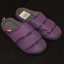 Summit Camping Slippers (purple, Large) -  waterproof camping slippers outdoor resistant unisex thermal fleece summit