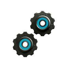 Tacx Ceramic Jockey Wheels 10t Blue/black 2017 Groupsets - 10 Si3n4 Teflon -  wheels tacx jockey ceramic 10 si3n4 teflon circuit
