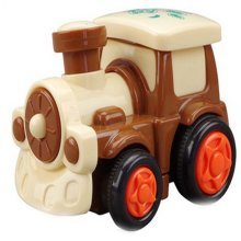 Lovely Train Car Wind-up Toy for Baby/Toddler/Kids (Color Random)