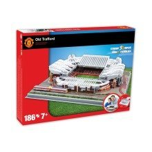 Old Trafford Manchester United Stadium 3d Model Jigsaw Puzzle (186 Pieces)