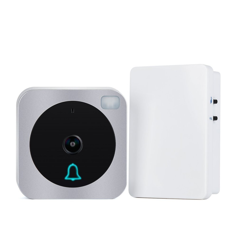 Wifi Video Vuebell Doorbell Camera 720P HD Cam,Cloud Storage