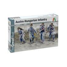 WWI AUSTRO-HUNGARIAN INFANTRY - MILITARY VEHICLES 1:35 - Italeri 6528