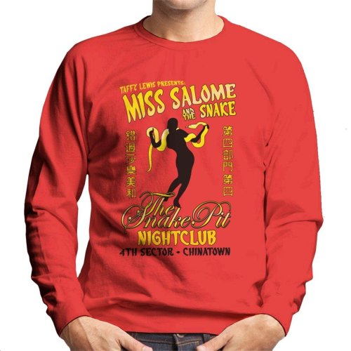 Miss Salome And The Snake Blade Runner Men's Sweatshirt