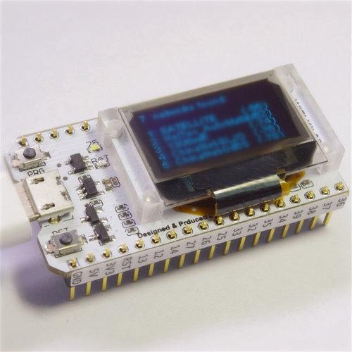 ESP32 LoRa WIFI Bluetooth Development Board OLED Display IOT Module