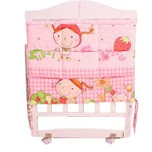 Durable Cartoon Multilayer Pouch Storage Diaper Bag Baby Bedside Bag