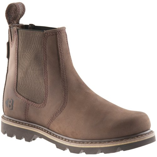 Buckler B1400 Non Safety Dealer Boots Chocolate Oil (Sizes 6-13) Men's Shoes