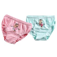 [Cute Girl] Girls Comfortable Cotton Panties/Underwear, 2PCS