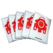Pack of 5 Miele S4210 Microfibre Vacuum Cleaner Dust Bags