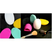 Make Up Brush Cleaner Egg. New, Various Colours