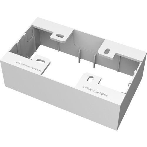 Vision TC3 BACKBOX2G White electrical box