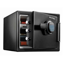 Fire resistant fireproof water resistant safe with programmable digital combination electronic lock - Size L