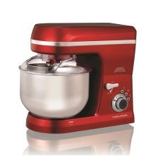Morphy Richards 400017 Total Control Food Stand Mixer 800W 5 Litre Red
