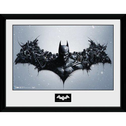 Batman Comic Origins Framed Collector Print