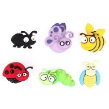 Bug Eyed - Novelty Craft Buttons & Embellishments by Dress It Up