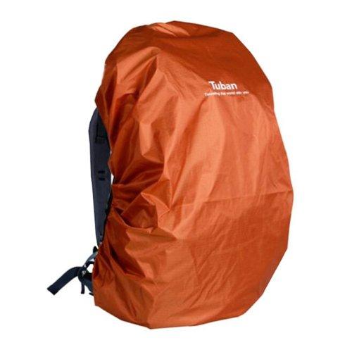 Outdoor Riding Backpack Rain Cover Waterproof Backpack Cover-40 L Dark Orange