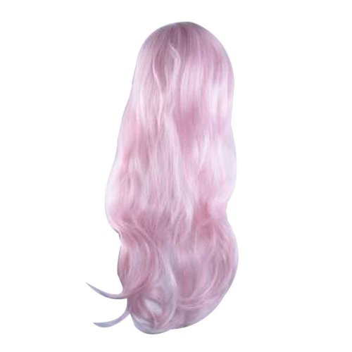 Cosplay Wavy Wig for Lolita Halloween Party Anime Fans [Pink]