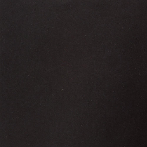"Papicolor 140lb (210gsm) Textured Cardstock 12""X12""-Kraft Black"