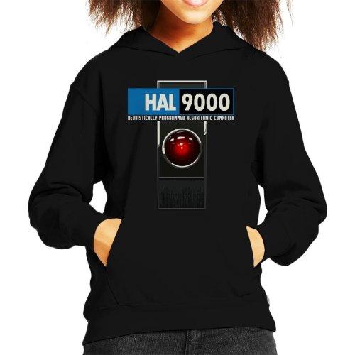 HAL 9000 Algorithmic Computer 2001 Space Odyssey Kid's Hooded Sweatshirt
