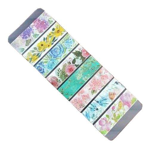 Set of 2 Decorative Washi Masking Tapes DIY Craft Tapes Flowers