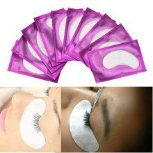 50Pairs/Pack Eyelash Paper Patches Under Eye Pads Lashes Extension Tips Sticker Wraps Makeup T