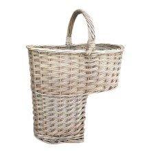 Antique Wash Finished Stair Basket