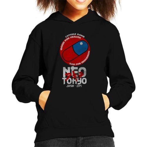 Neo Tokyo Capsule Gang Akira Kid's Hooded Sweatshirt
