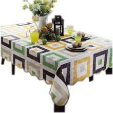 Heat-resisting Classical Rectangular Checkers Tablecloth (106*152cm)