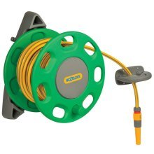 Hozelock Wall-Mounted Hose Reel 30 m with 15 m Hose 2422R0000