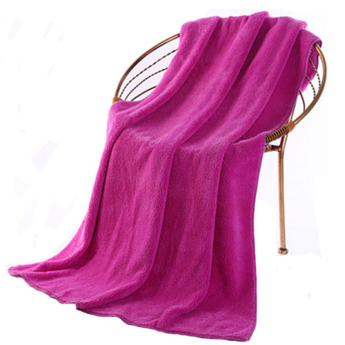 Soft Extra Large Beach Towels (140*70cm) Purple