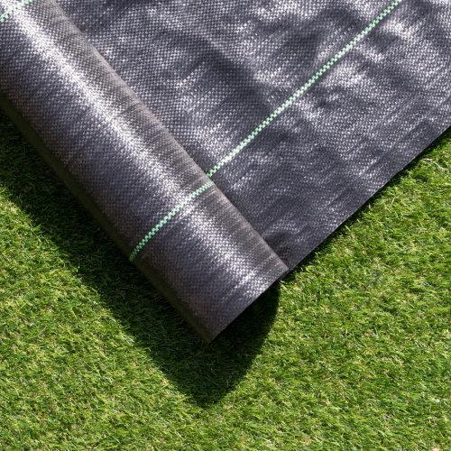 Black Polypropylene Weed Membrane - 2m by 100m Roll