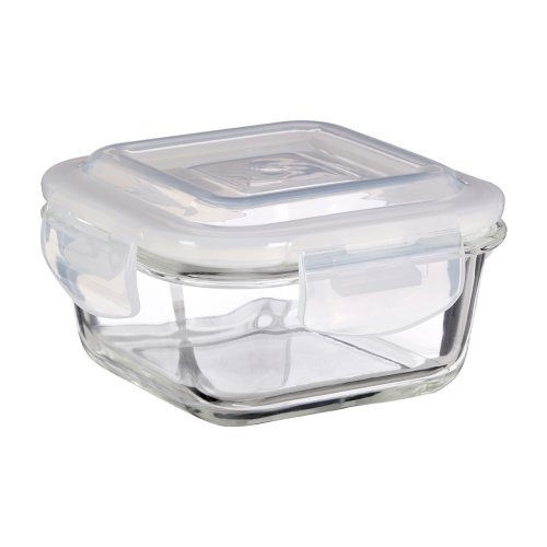 Freska 320 ml Glass Container, Clear